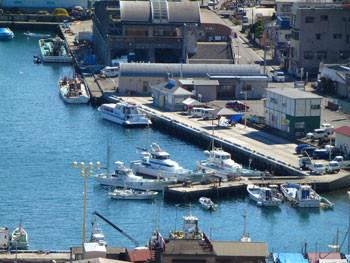 神奈川県・真鶴漁港と真鶴魚座