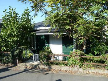 横浜・高田坂のグリーンの住宅