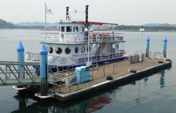 横浜・八景島シーパラダイスの遊覧船
