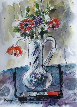 静物画「花」