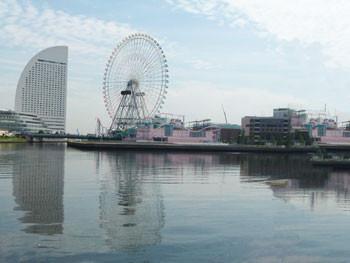 横浜・コスモワールドの観覧車