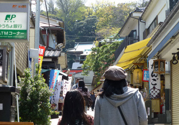 藤沢・江ノ島神社参道