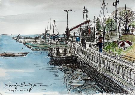 藤沢・江ノ島の漁船