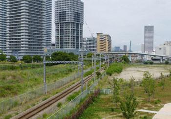 横浜・高島水際線公園の貨物線