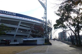 横浜・横浜公園の横浜スタジアム