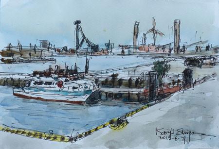 横浜・横浜港の船