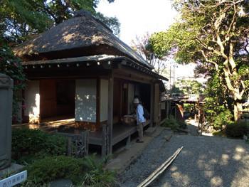 神奈川県・大磯の鴫立庵(しぎたつあん)