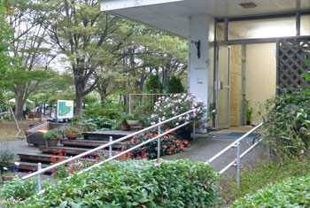 鎌倉・大船フラワーセンターの第一展示場