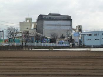 藤沢市・亀井野の藤沢生コンの工場