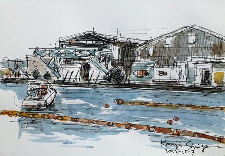 横浜・鳥浜工場地帯の工場や倉庫