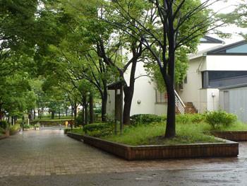横浜市・舞岡公園の管理詰め所