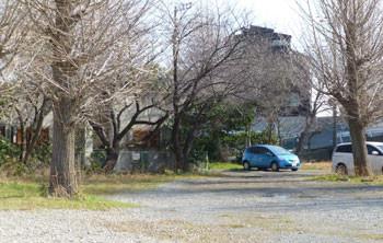 藤沢・藤沢本町の日本精工(株)従業員専用駐車場