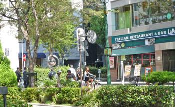 横浜・馬車道の信濃屋とイタリアンレストラン