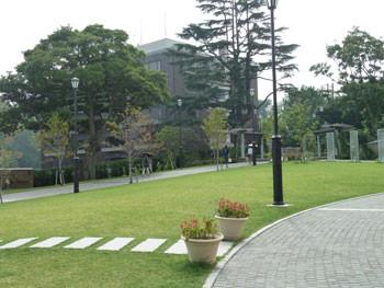 横浜・アメリカ山公園の中央付近