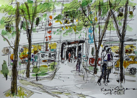 横浜市・シルクセンターの英一番街