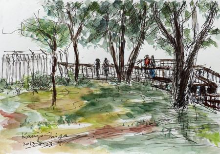 藤沢・江ノ島の亀ヶ岡広場