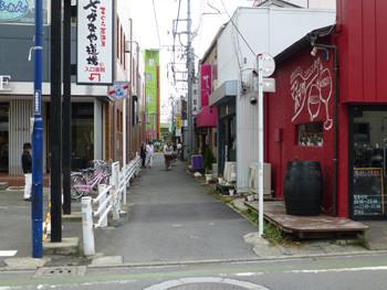 JR茅ヶ崎南口駅前の横丁