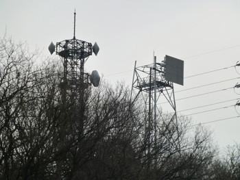 藤沢・新林公園の電波塔