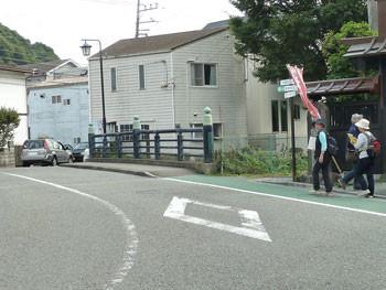 鎌倉の夷堂橋(えびすどうばし)付近