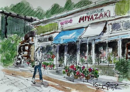 横浜・代官坂の宮崎生花店