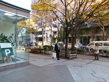 横浜・大桟橋通りでの出会い