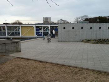 横浜・東俣野中央公園のレストハウス(管理棟)