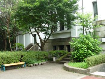 横浜市港北区・大倉山記念館の樹木