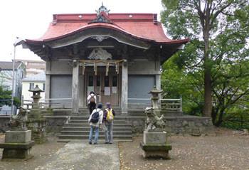 横浜・上大岡の青木神社