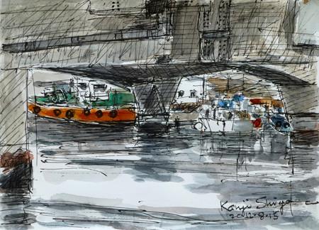 横浜・新山下の船