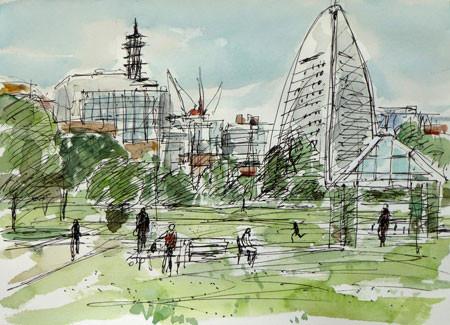 横浜・赤レンガパーク