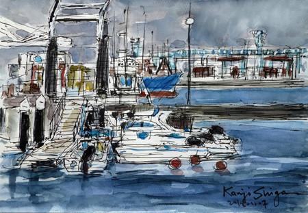 横浜・横浜ベイサイドマリーナのボート