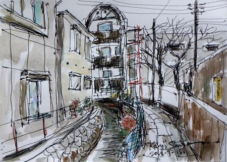 鎌倉市・小町のアートカフェギャラリー「花墨」