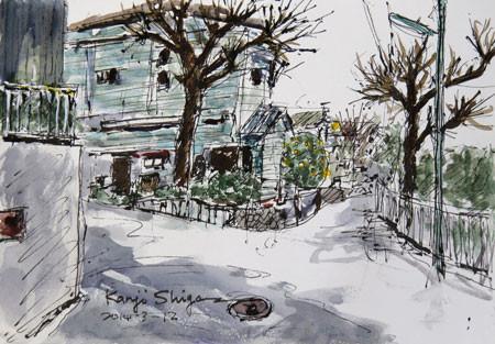 藤沢・藤沢本町の住宅街