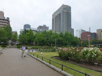 横浜・山下公園とニューグランドホテル