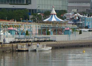 横浜・ボートとコスモワールド