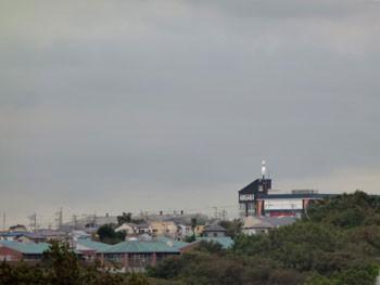 横浜・我が家から見たラウンドワン横浜戸塚店