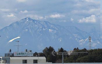 神奈川県・丹沢遠望