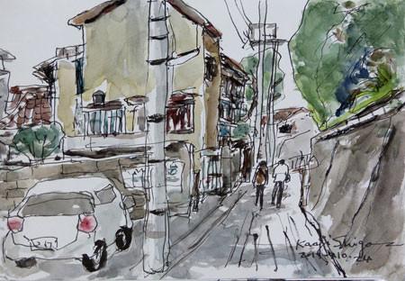 神奈川県・大磯の町並み