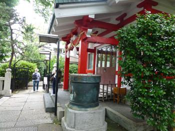 横浜・元町の厳島神社
