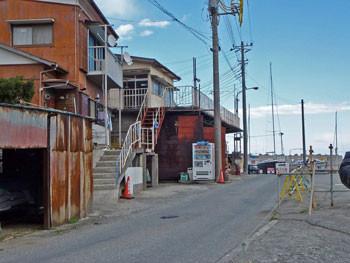 神奈川県真鶴町・磯崎方面の建物