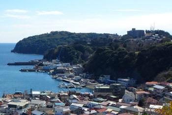 神奈川県・真鶴半島と真鶴漁港