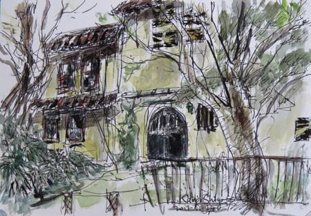 鎌倉・長谷の廃屋