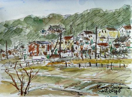 藤沢市・大庭の新しい住宅街