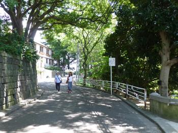 横浜・山手公園付近