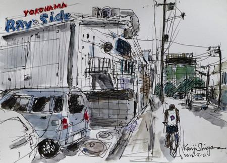 横浜・貯木場のYOKOHAMA BAY SIDE