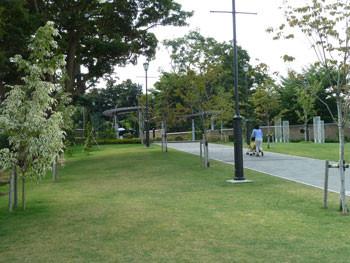 横浜・元町のアメリカ山公園