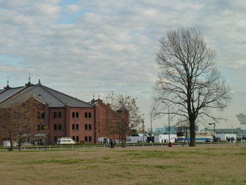 横浜・みなとみらいの赤レンガ倉庫