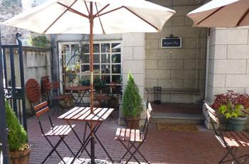 横浜・開港資料館のカフェAu jardin de Perry