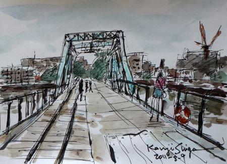 横浜・汽車道の橋梁