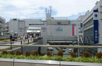 茅ヶ崎・JR茅ヶ崎駅とラスカ